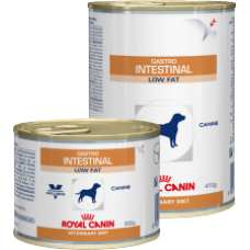 GASTRO INTESTINAL LOW FAT CANIN 410г, вл д. д/соб 12 штук