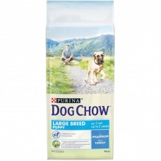Dog Chow Adult large breed PUPPY индейка